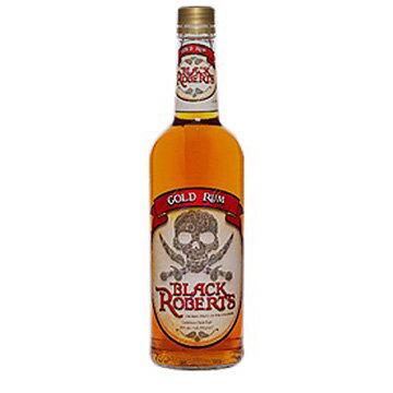 Black Roberts Gold Rum (1.75 L)