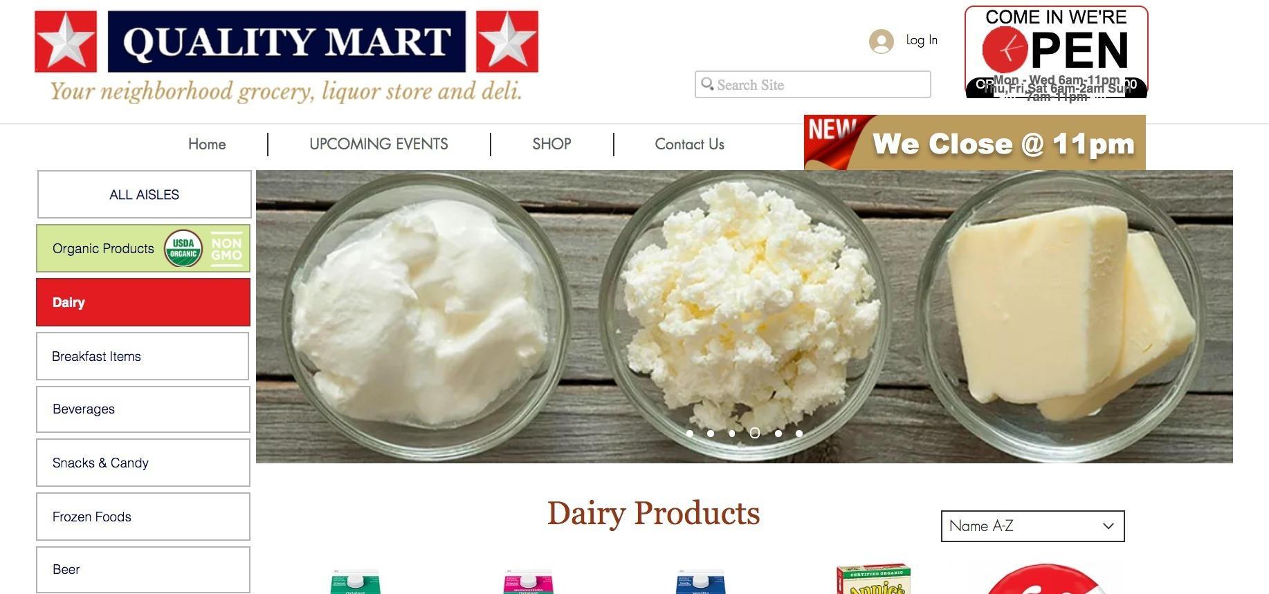 Quality Mart Inc.
