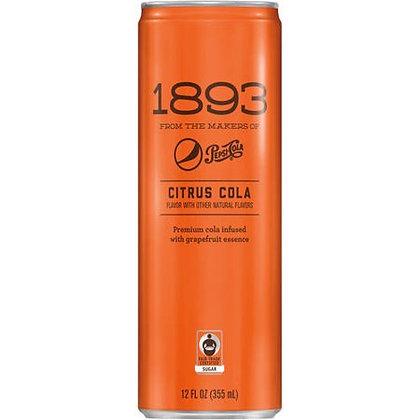 Pepsi 1893 Citrus Cola, 12 Fl. Oz.