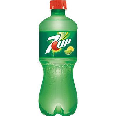 7 UP 20oz bottle