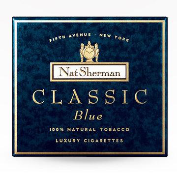 Nat Sherman Classic Blue Cigarettes