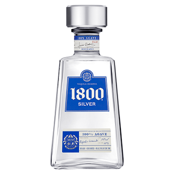 1800 Anejo Silver Tequila (750 ml)