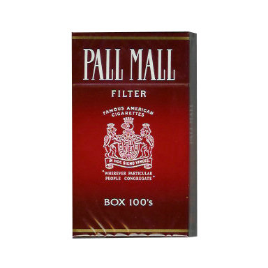 Pall Mall Red 100s Cigarettes
