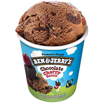 Ben & Jerry's Chocolate Cherry Garcia