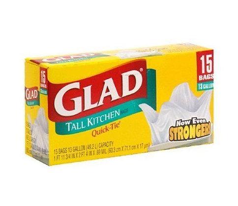 Glad Tall Kitchen Trash Bags (15)