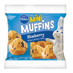 Pillsbury Mini Blueberry Muffins