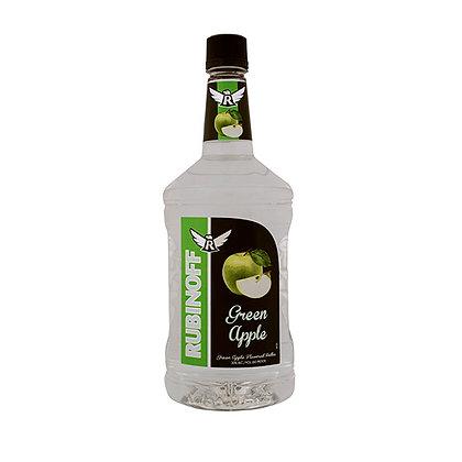 Rubinoff Green Apple Vodka (1.75 L)