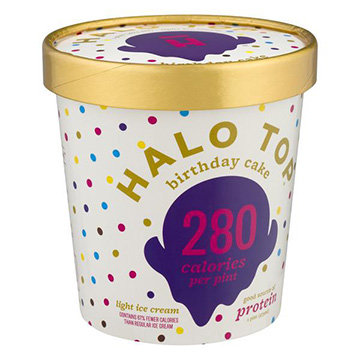 Halo Top Birthday Cake Ice Cream