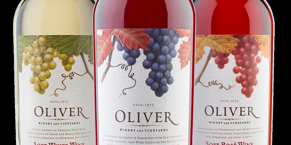Oliver Wines Tasting