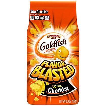 Pepperidge Farm Goldfish Flavor Blasted Xtra Cheddar Crackers (6.6 oz)