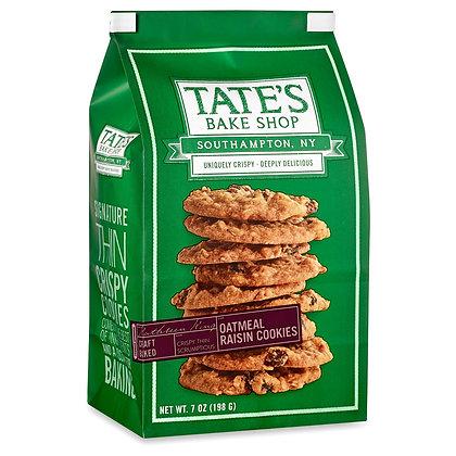 Tate's Oatmeal Raisin Cookies (7 oz)