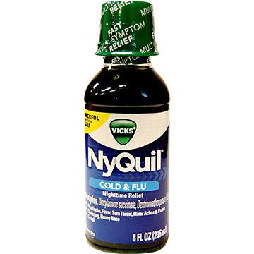 Nyquil Liquid (8 oz)
