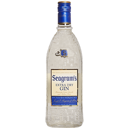 Seagram's Extra Dry Gin (750 ml)