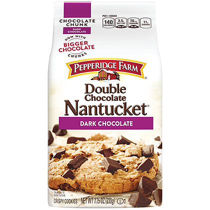 Pepperidge Farm® Nantucket® Crispy Double Chocolate Chunk Cookies (8.6 oz)