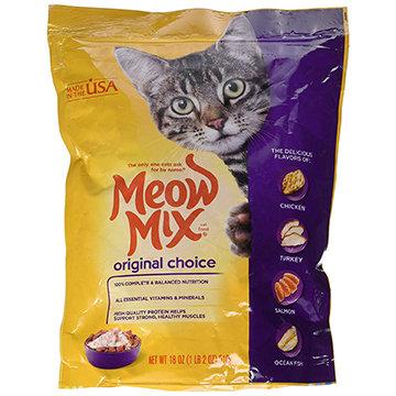 Meow Mix Original Choice Dry Cat Food (1lb 2oz)