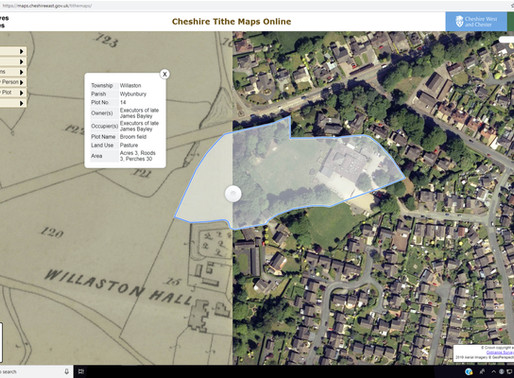 Aerial Photographs Bring to Life Cheshire's Early Tax Maps