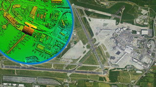 Bluesky LiDAR Survey Helps Dublin Airport Plan Drainage Infrastructure and Reduce Risk of Flooding