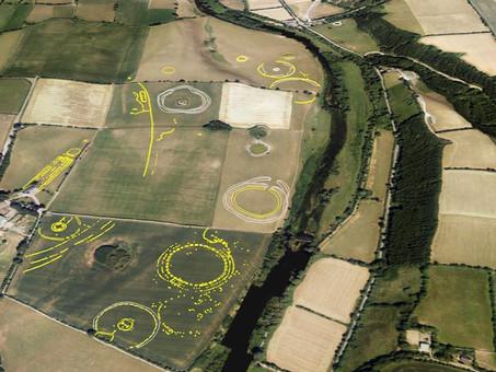 Bluesky Aerial Photographs Reveal Hidden Irish Archaeological Sites