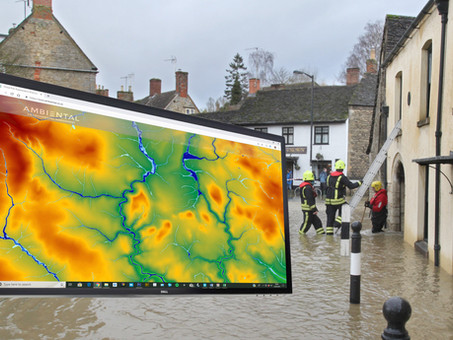Bluesky 3D Terrain Models Used to Upgrade Ambiental Risk Analytics' Nationwide Flood Risk Map