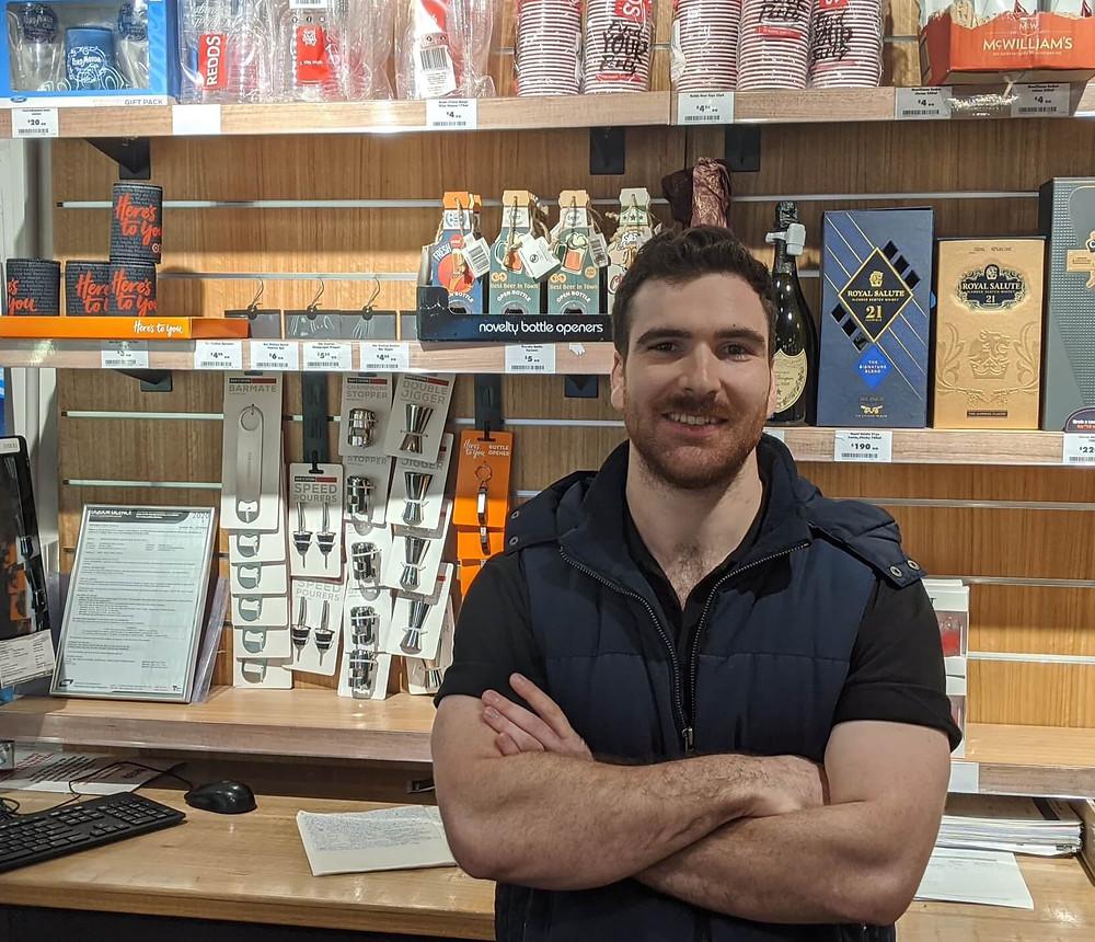 BWS employee Eugene.