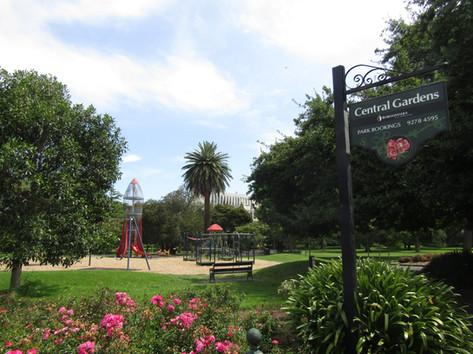 Central Gardens aka Rocket Park February 2020