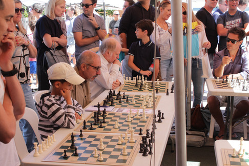 Chess stand, Glenferrie Festival