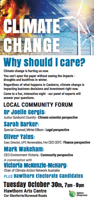 Climate Change: Why Should I Care?