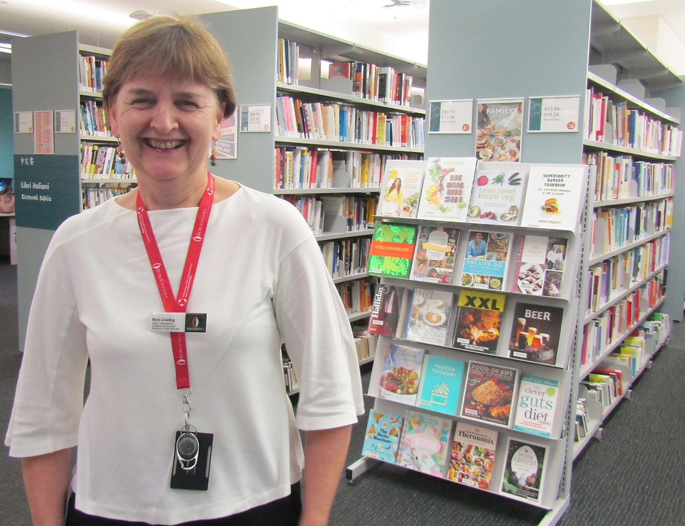Myra Dowling from the Hawthorn Library