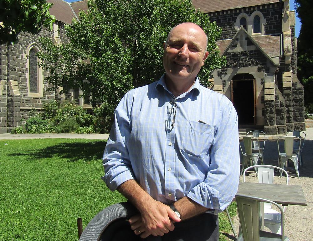Vicar Mike Flynn