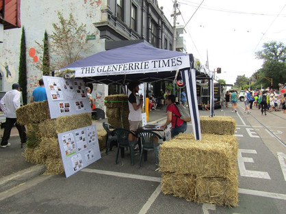 The Glenferrie Times at Glenferrie Festival