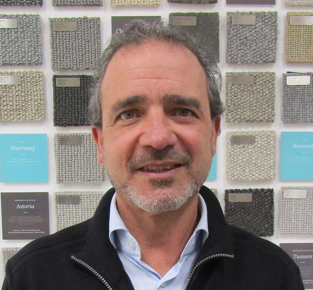 Paul Mifsud. business manager of Halls Carpet Court.