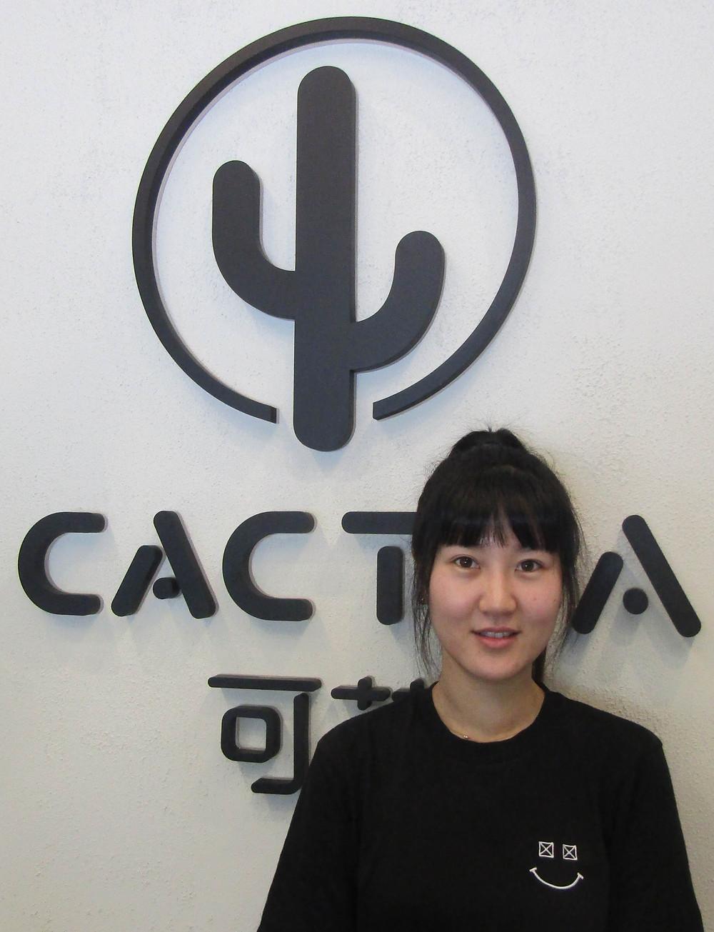 Cecilia from CacTea.