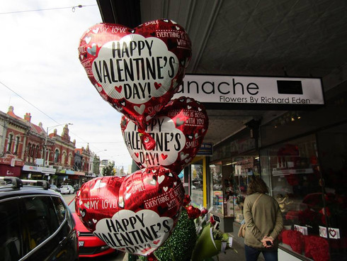Valentines Day at Panache Flowers 2019.