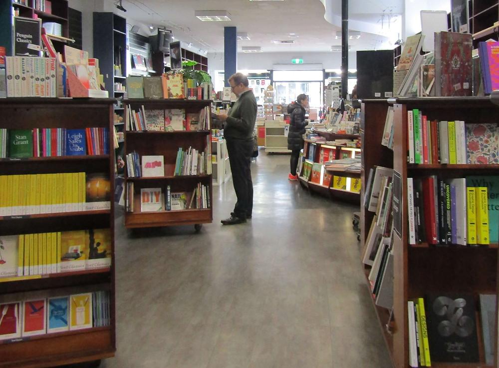 Inside Readings Hawthorn (701 Glenferrie Road)