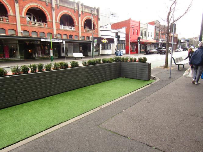Parklet Extension