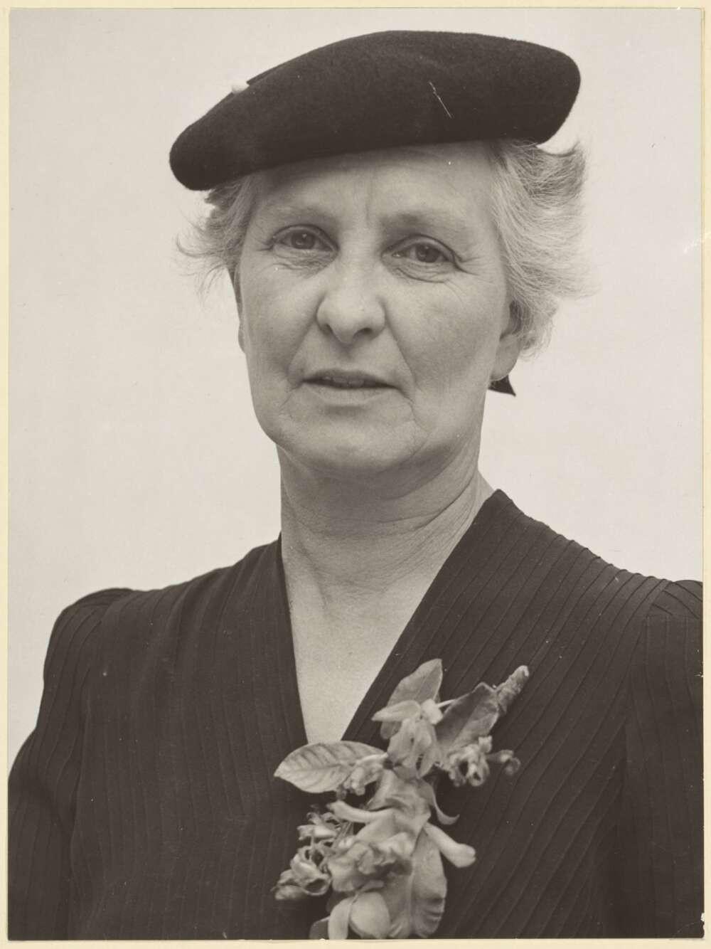 Doris Blackburn, circa 1940s. Source: Trove, National Library of Australia.