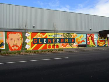 Glenferrie Mural on Linda Crescent.