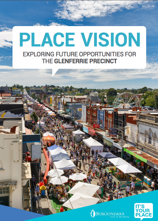 Placemaking Vision frontpage document. Source: City of Boroondara.