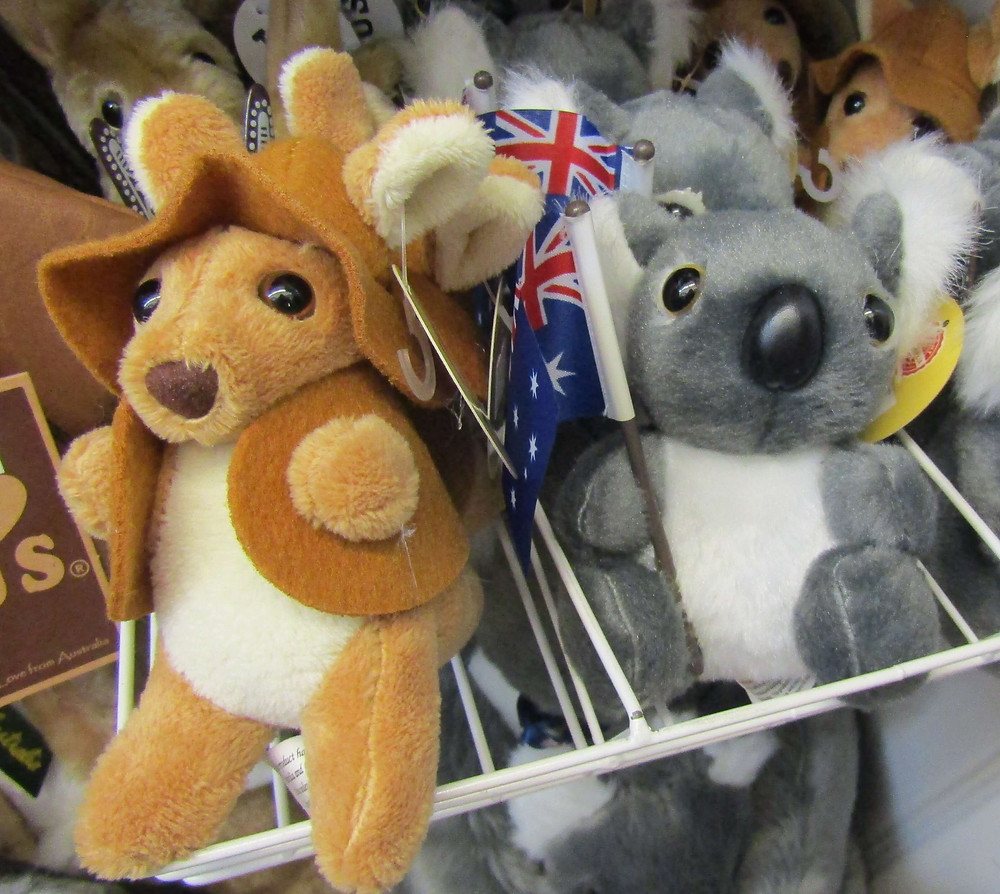 Toy Australian animals at My Red Shop