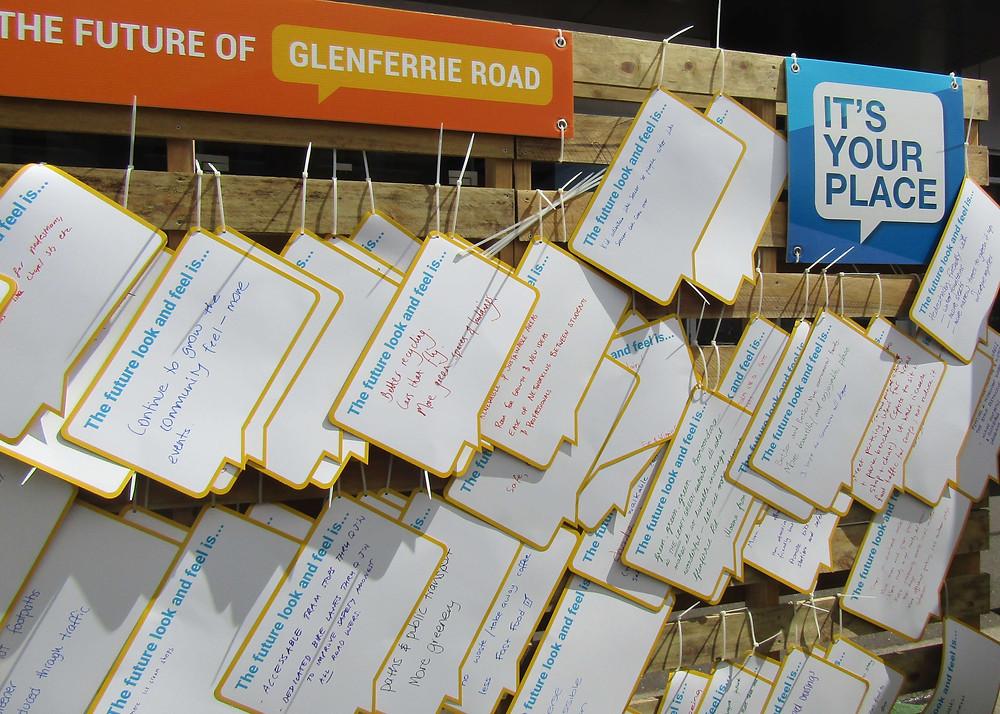 Suggestions made by Glenferrie Festival attendees.