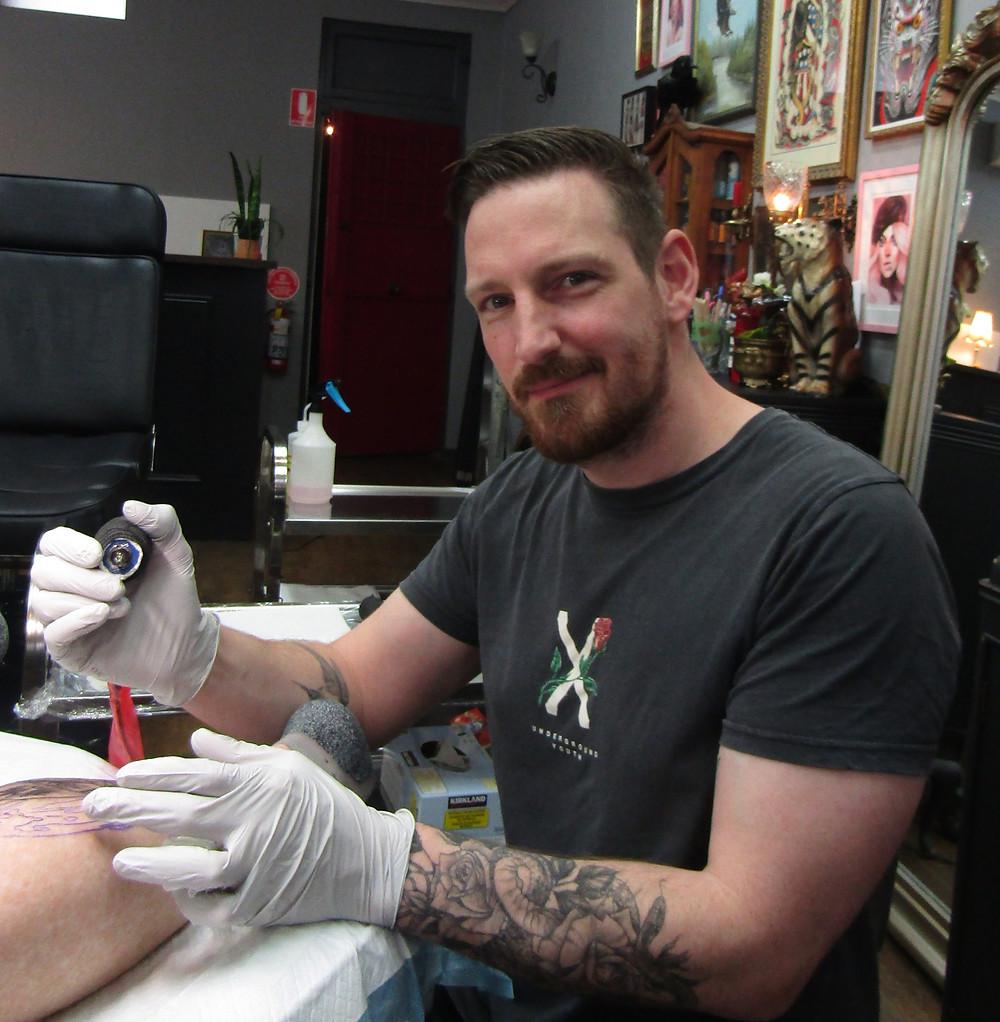 Luke - Seven Saints Tattoo