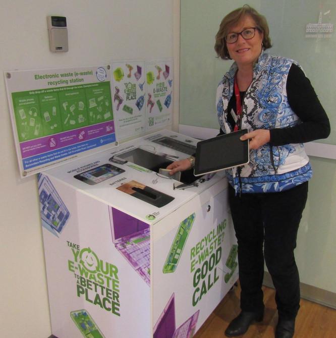 E-Waste Collection Banks