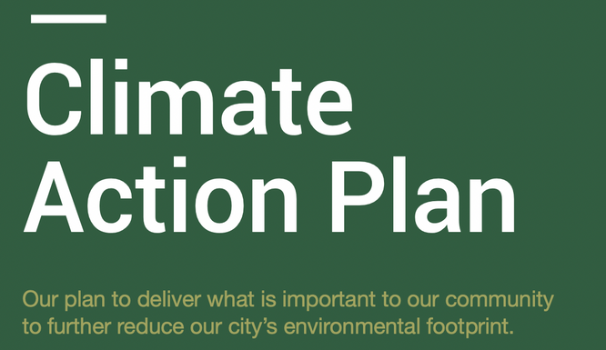 Climate Action Plan Draft Released