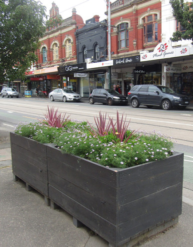 Revitalised Planter Boxes