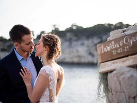 Un Mariage dans les Calanques - Style Shoot -
