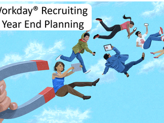 Workday® Recruiting - Year End Planning!