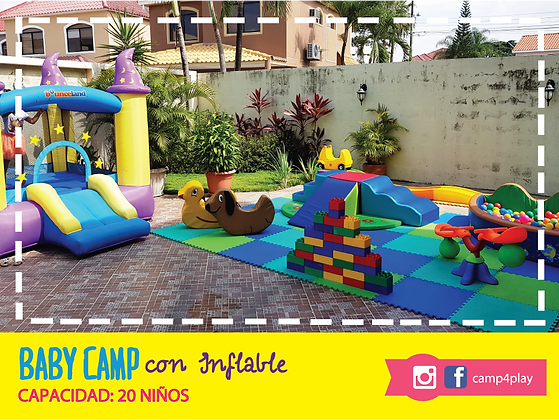 Basic Camp con Inflable