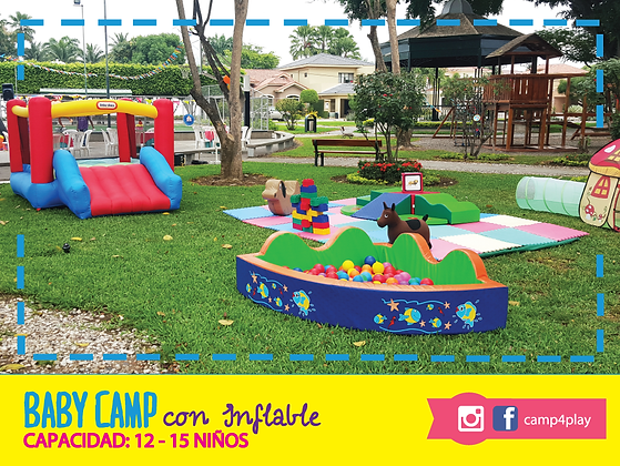 Baby Camp con Inflable