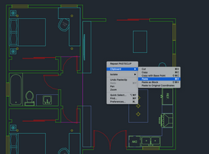 Autocad LT For Mac 2021 Screenshot - Right-click on the drawing area