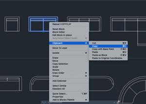 Autocad LT For Mac 2021 Screenshot - Right-click on a block